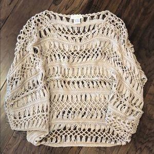 Tops - Crochet Coverup